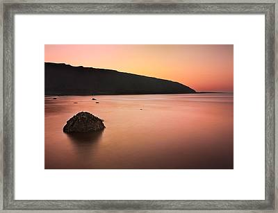 North Sea Framed Print by Svetlana Sewell
