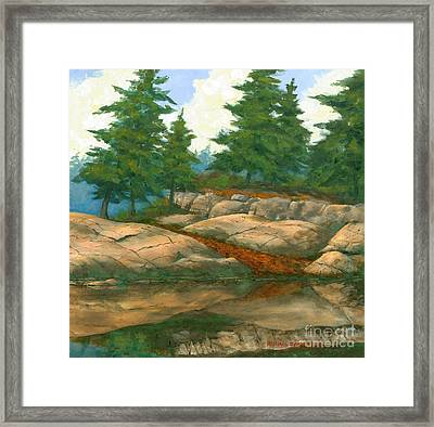 North Shore Framed Print by Michael Swanson