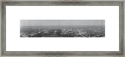 North View Washington Dc Framed Print by Panoramic Images