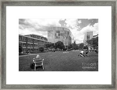 Northeastern University Behrakis Health Sciences Center Framed Print by University Icons