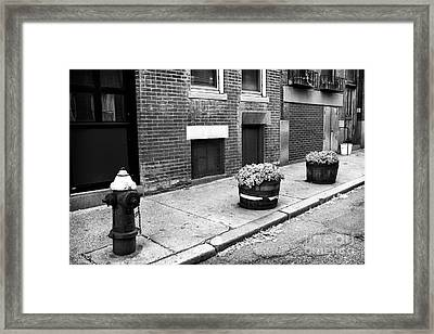 Northend Framed Print by John Rizzuto