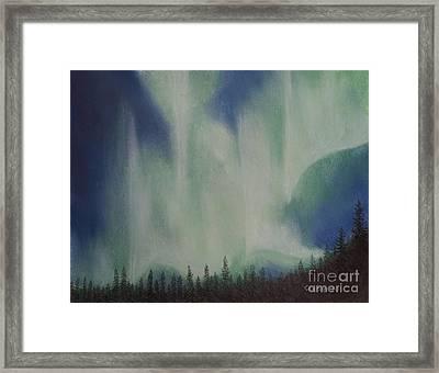 Northern Angel Bird Framed Print by Stanza Widen