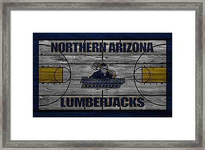 Northern Arizona Lumberjacks Framed Print by Joe Hamilton