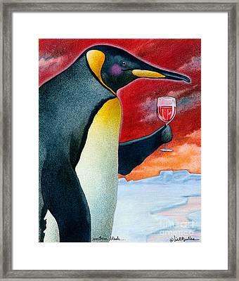 Northern Blush... Framed Print by Will Bullas