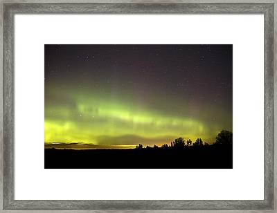 Northern Lights  Framed Print by Pierre Leclerc Photography