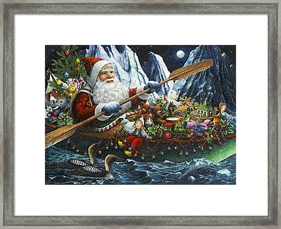 Northern Passage Framed Print by Lynn Bywaters