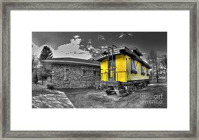 Northport Depot Framed Print by Twenty Two North Photography