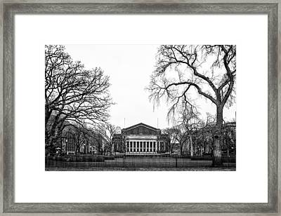 Northrop Auditorium At The University Of Minnesota Framed Print by Tom Gort