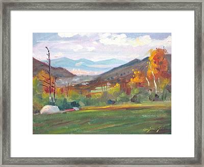 Northward Framed Print by Len Stomski