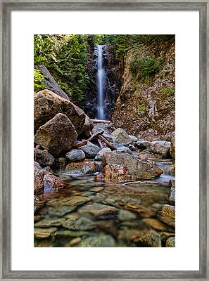 Norvan Falls Framed Print by James Wheeler