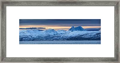 Norwegian Coast Framed Print by Wade Aiken