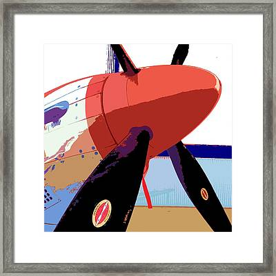 Nose Cone Framed Print by Julio Lopez