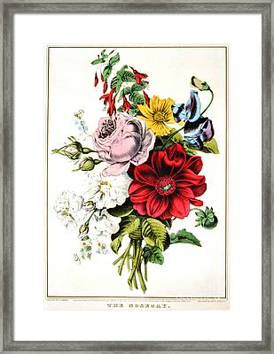 Nosegay 1848 Framed Print by Padre Art