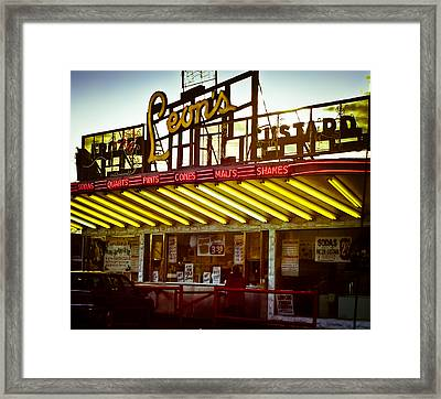 Nostalgia Framed Print by Christi Kraft