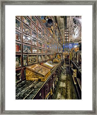 Nostalgic Hardware Store Framed Print by Mountain Dreams