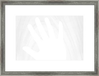 Not Even Want To See Framed Print by Carlos Vieira