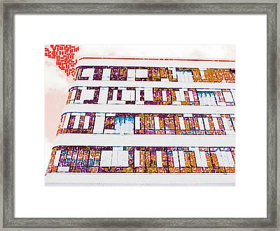 Not Everyone Needed Sedatives After The Continuos Earthquakes Framed Print by Steve Taylor
