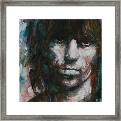 Not Fade Away Framed Print by Paul Lovering