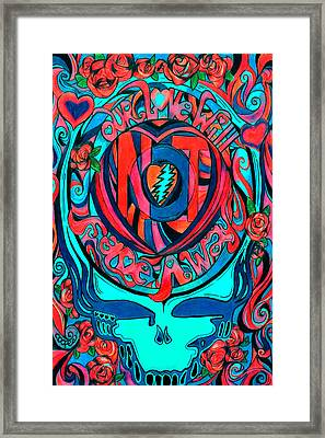 Not Fade Away Two Framed Print by Kevin J Cooper Artwork