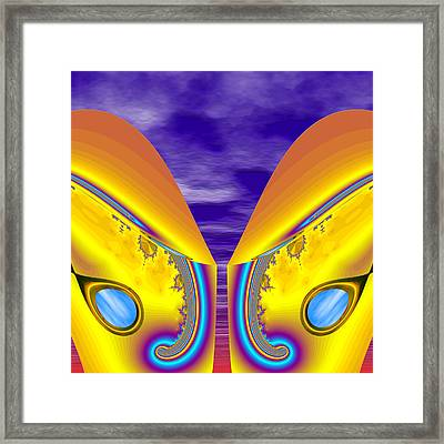Not From The Neighborhood - Introduction Framed Print by Wendy J St Christopher