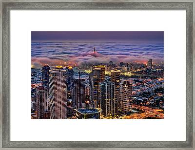Not Hong Kong Framed Print by Ron Shoshani