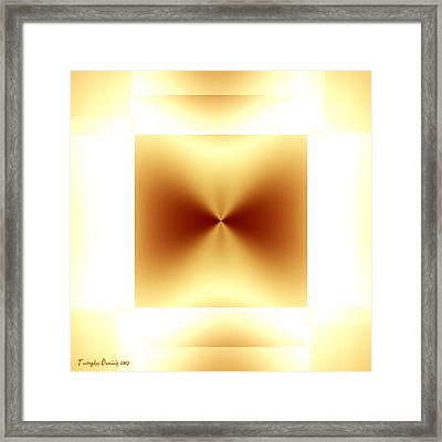 Not Malevich. 2013 80/80 Cm.  Framed Print by Tautvydas Davainis