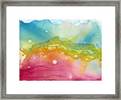 Not Of This World Framed Print by Margarita Puckett