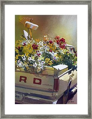 Not Ready To Go Framed Print by Kris Parins