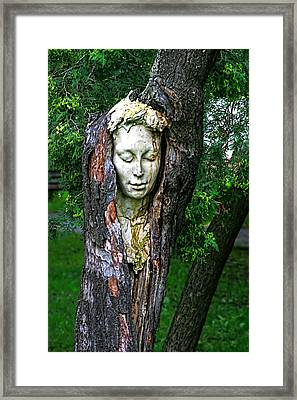Not Tonight Dear I Have A Spliting Headache. Framed Print by Matt Create