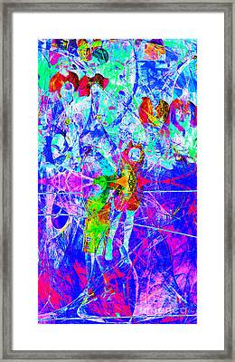 Nothing But Net The Jump Shot 20150310inv Framed Print by Wingsdomain Art and Photography
