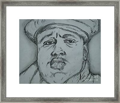 Notorious Big Art Framed Print by Collin A Clarke