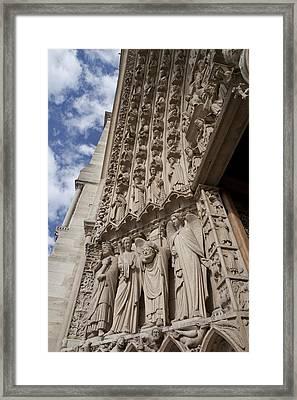Notre Dame 3 Framed Print by Art Ferrier