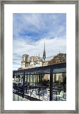 Notre Dame Framed Print by Ivan Vukelic