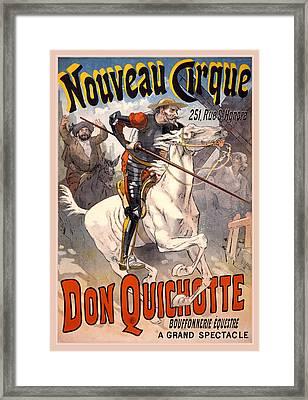 Nouveau Cirque Framed Print by Gary Grayson