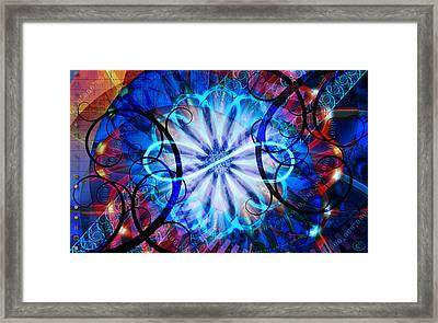 Novem Framed Print by Kenneth Armand Johnson