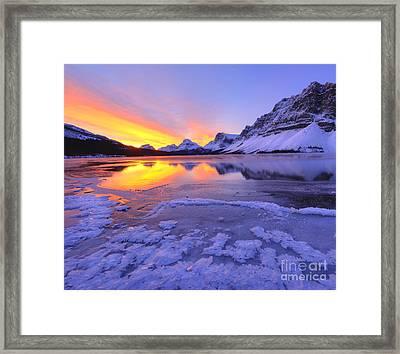 November Freeze 2 Framed Print by Dan Jurak
