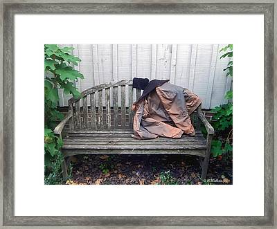 Now I Lay Me Down... Framed Print by Brian Wallace
