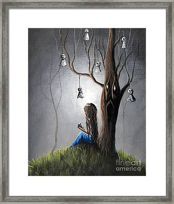 Now She Won't Be Alone II By Shawna Erback Framed Print by Shawna Erback