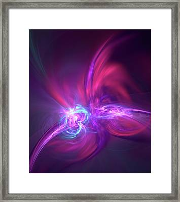 Nuclear Fusion Framed Print by David Parker