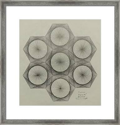 Nuclear Fusion Framed Print by Jason Padgett