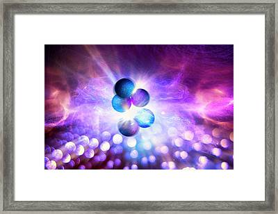 Nuclear Fusion Framed Print by Richard Kail