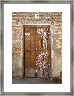 Number 13 Framed Print by Roberto Alamino