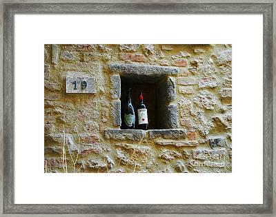 Number 19 Framed Print by Mel Steinhauer
