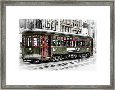 Number 965 Trolley Framed Print by Tammy Wetzel