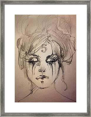 Number Five Framed Print by H James Hoff