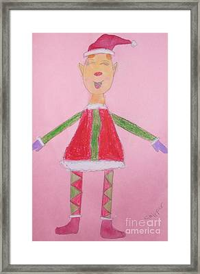 Number One Elf  Framed Print by PainterArtist FIN