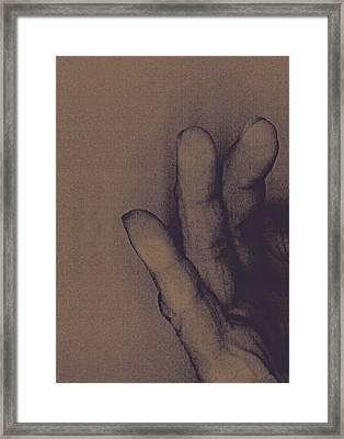 Number Three Framed Print by Bob RL Evans