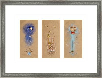 Nursery Collection 1 Framed Print by David Breeding
