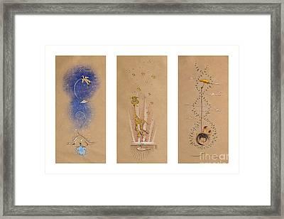 Nursery Collection 2 Framed Print by David Breeding