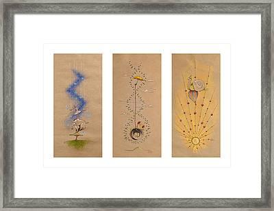 Nursery Collection 4 Framed Print by David Breeding